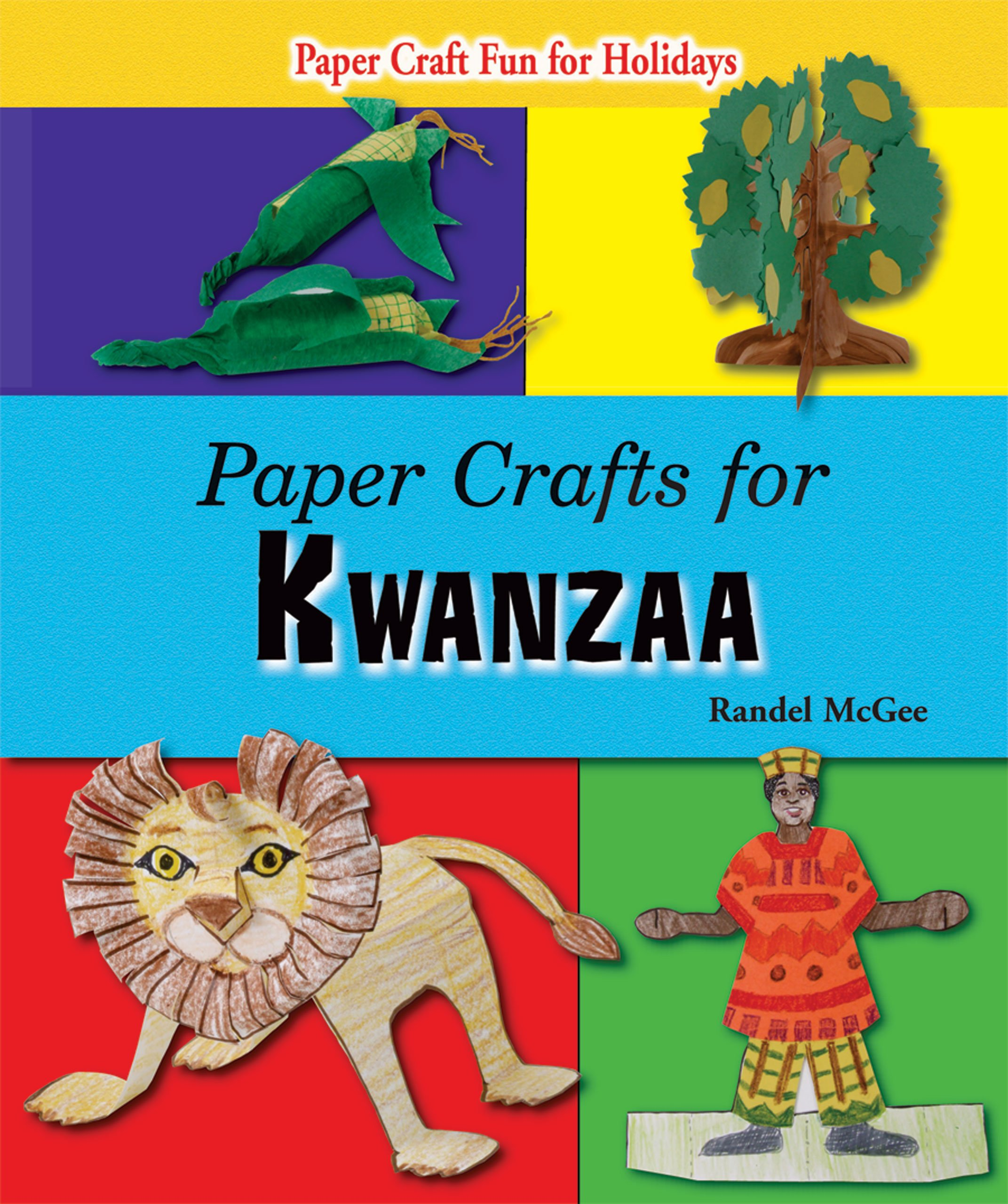 Paper Crafts for Kwanzaa (Paper Craft Fun for Holidays) by Enslow Publishers, Inc. (Image #1)