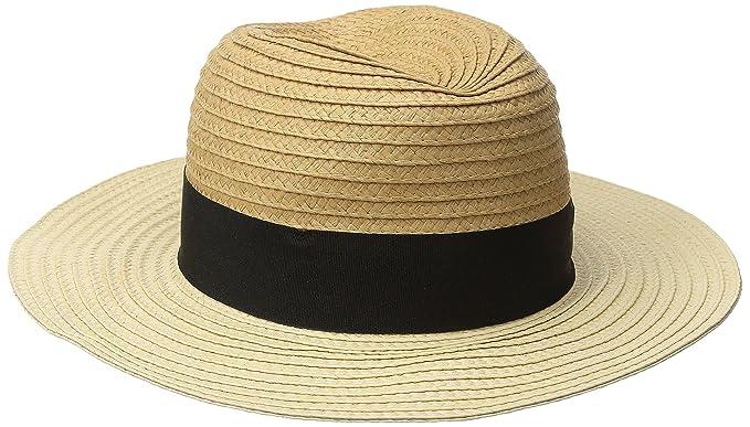 a04a503f2b6 Goorin Bros. Women s Bobisha Two Tone Wide Brim Fedora Hat Camel ...