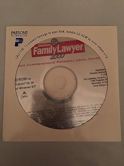 Amazon.com: Quicken Family Lawyer 2000