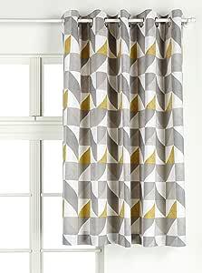 Julian Charles Delta Cortinas, 137 cm x 168 cm, algodón, Gris, 137 x 168 x 0,1 cm: Amazon.es: Hogar