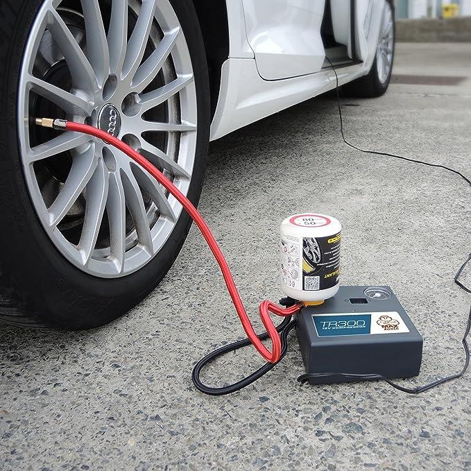 Kit de reparación de neumáticos (sin retirada de válvula) para vehículos todoterreno: Amazon.es: Coche y moto