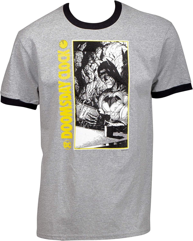 Doomsday - Camiseta con diseño de Batman Ringer: Amazon.es: Ropa y accesorios