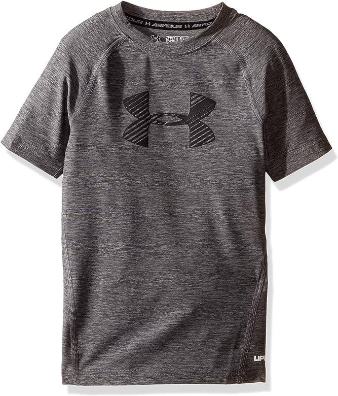 98316c23c9 Boys' HeatGear Short Sleeve Fitted Shirt