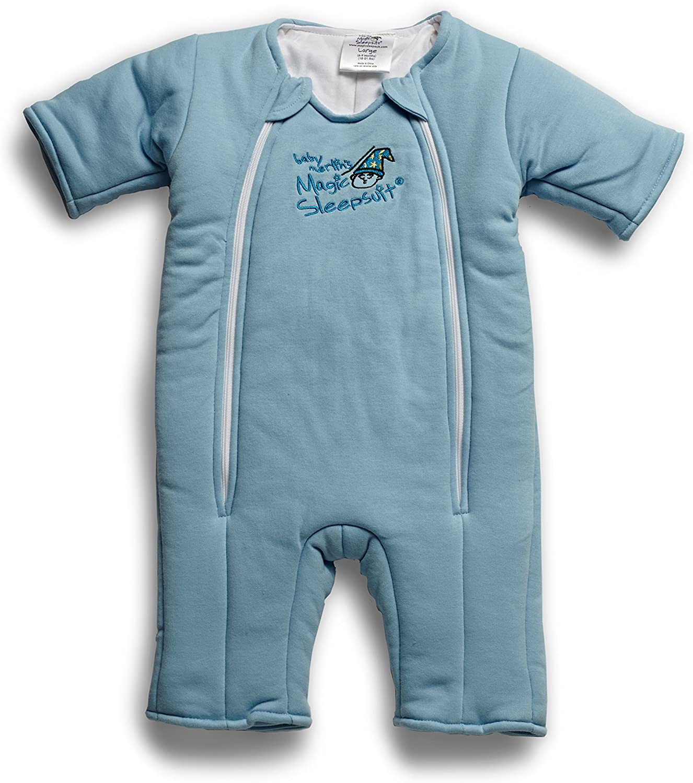 Cream Cotton Baby Merlins Magic Sleepsuit 6-9 months