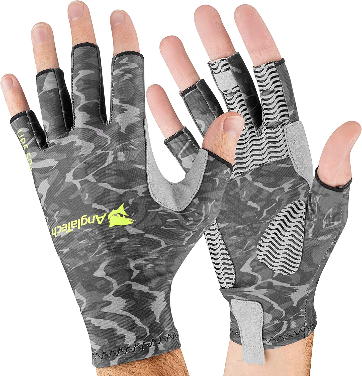 FINGER-LESS FLY FISHING GLOVES SIZE SMALL