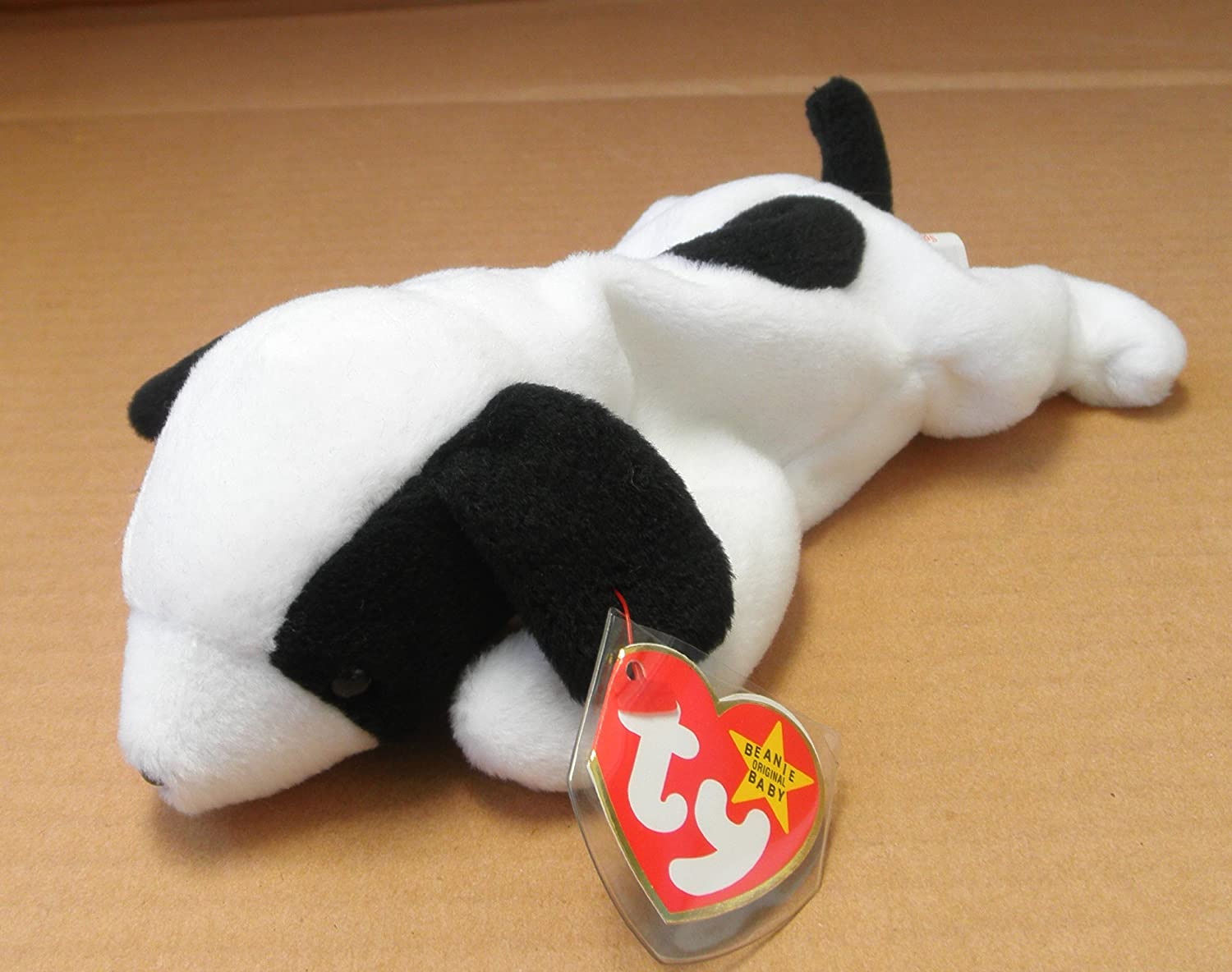 3bcce6f2999 Beanie babies spot the dog stuffed animal plush toy inches long toys games  jpg 1500x1184 Ty