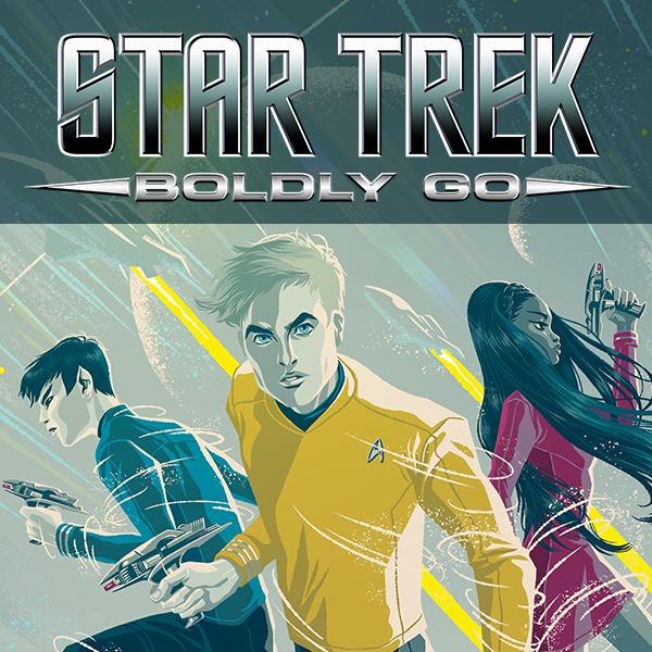 Star Trek: Boldly Go (Issues) (9 Book Series)
