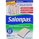 Salonpas Pain Relieving Patches, Pack of 60