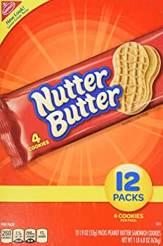 48-Pk Single Serve Bags of Nutter Butter Peanut Butter Sandwich