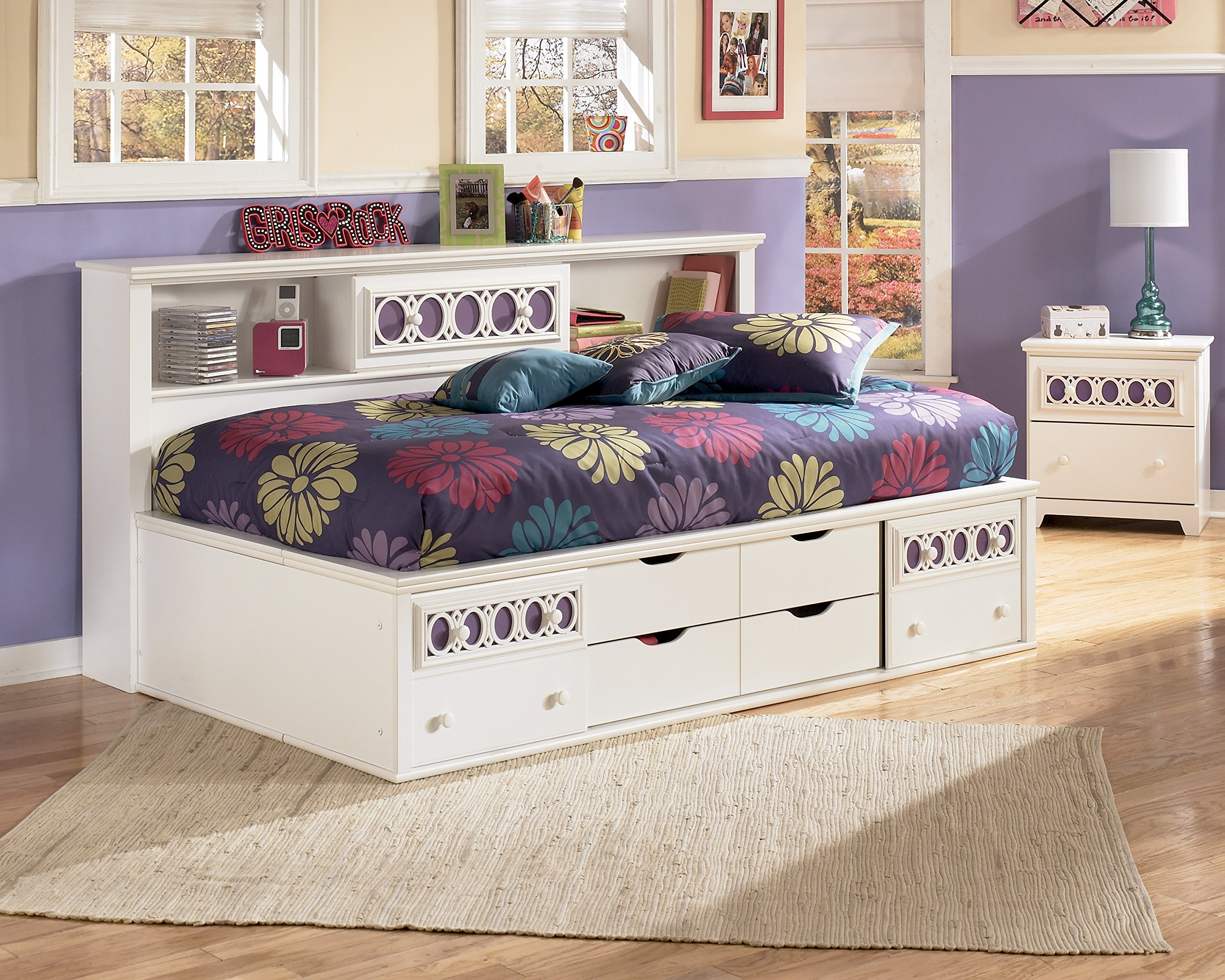 Day Beds Twin With Storage Drawers Amazon Com