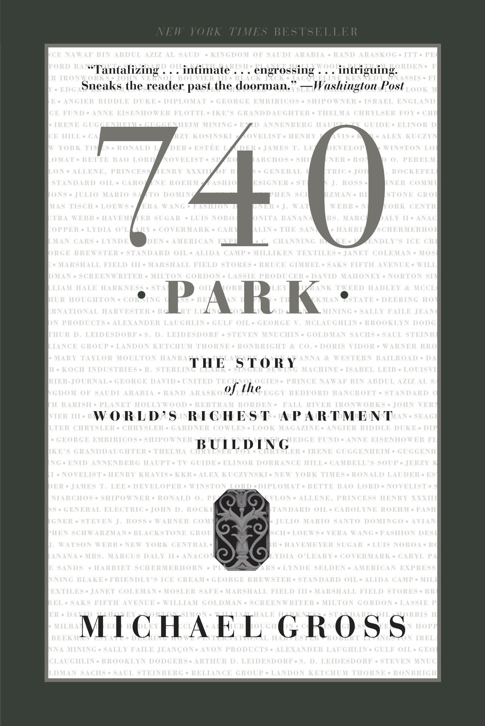 740 Park: The Story of the World's Richest Apartment Building pdf