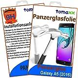 Samsung Galaxy A5 (2016) Glas Glasfolie 9H Panzerglas Panzerglasfolie Schutzfolie
