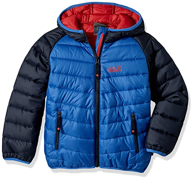 online retailer 30381 394c8 Jack Wolfskin Unisex - Kinder Winterjacke Zenon Wattiert