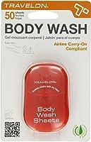 Travelon Toiletry Sheets Body Wash