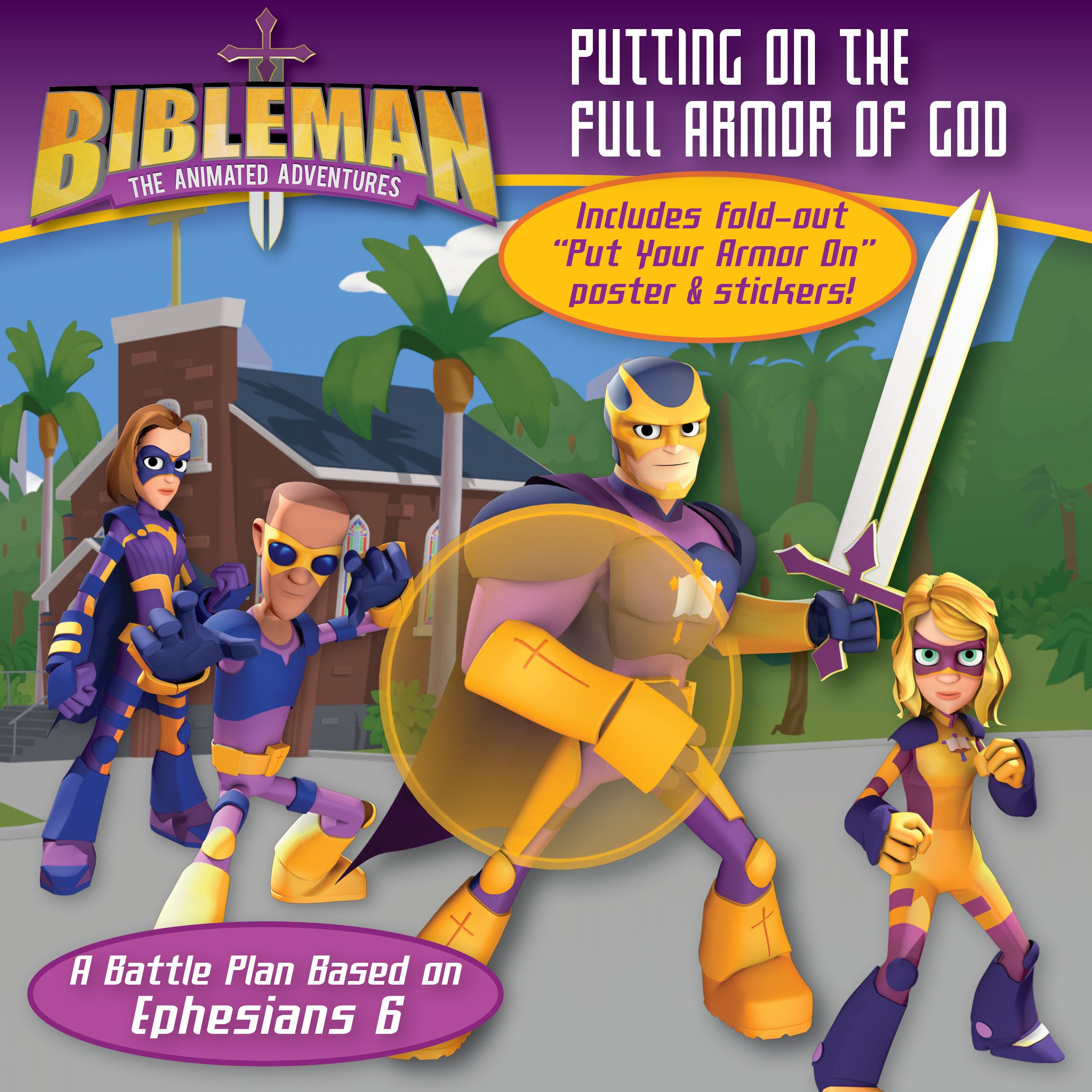 amazon com putting on the full armor of god a battle plan based