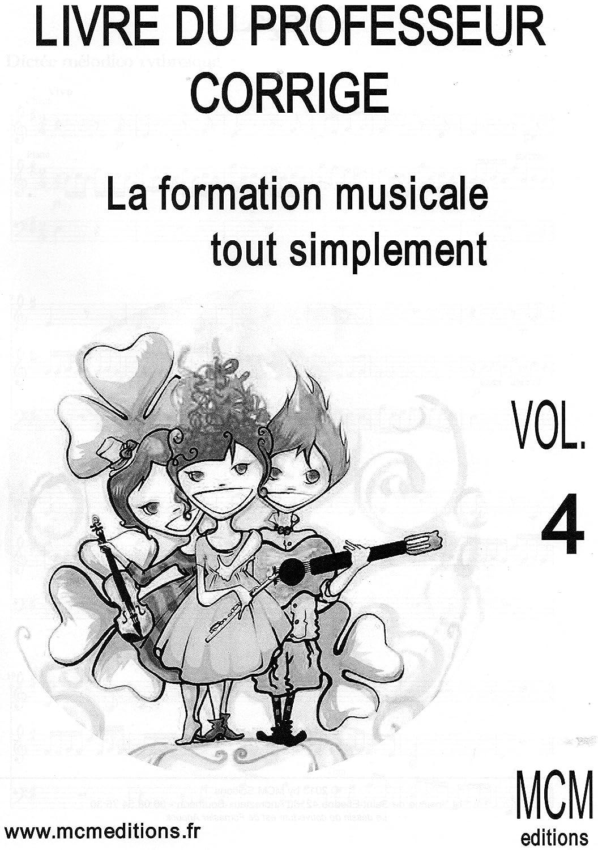 La Formazione Musicale Semplicemente Libretto Professor Corretto + Cd Vol 4
