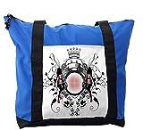 Lunarable Modern Shoulder Bag, Crown Royal Kingdom