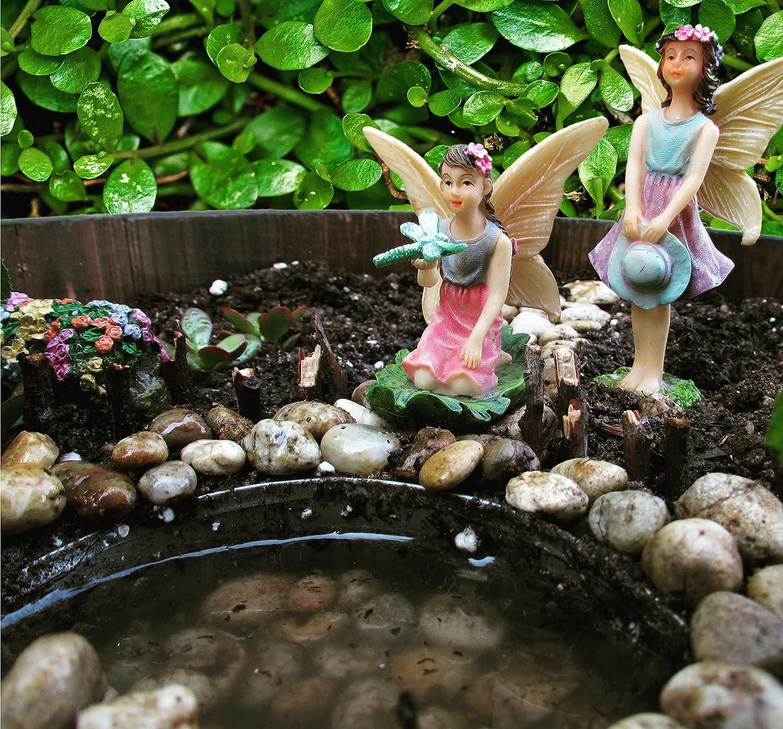 Parva Garden Miniatur-See oder Teich Feengartenzubeh/ör