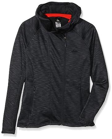 adidas Damen Trainingsjacke Climaheat Fleece Hoody: Amazon