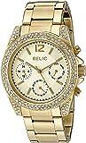 Relic Women's 'Jane' Quartz Stainless Steel Casual Watch (Model: ZR15825)