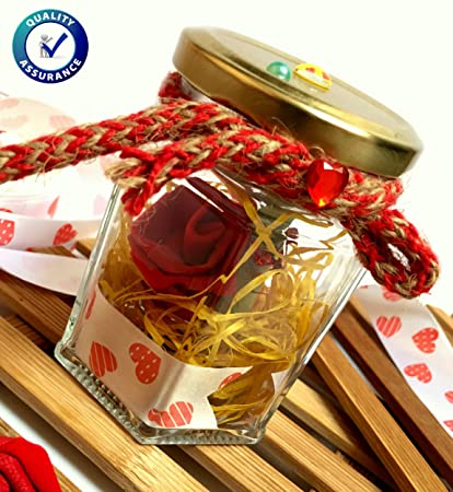Buy Valentines Gifts Jar With Personalised Secret Love Messages For Him Or Her Birthday Anniversary And Surprise Free Amazing NET POTLI