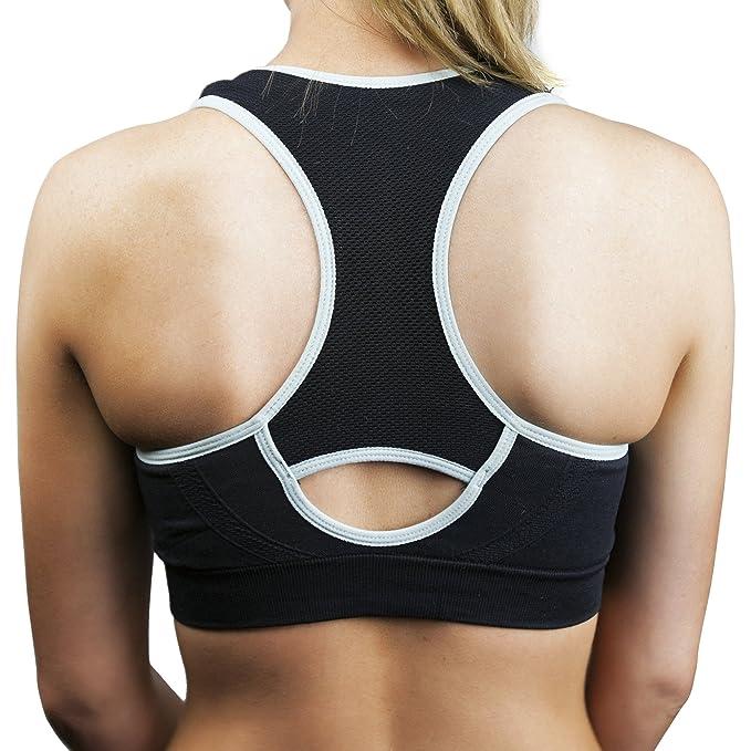 de2f120912 Suddora Women s Mesh Sport Bra - Low Impact at Amazon Women s Clothing store