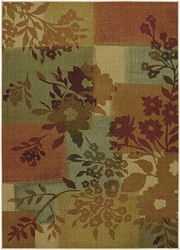 Mohawk Home Soho Daria Floral Printed Area Rug
