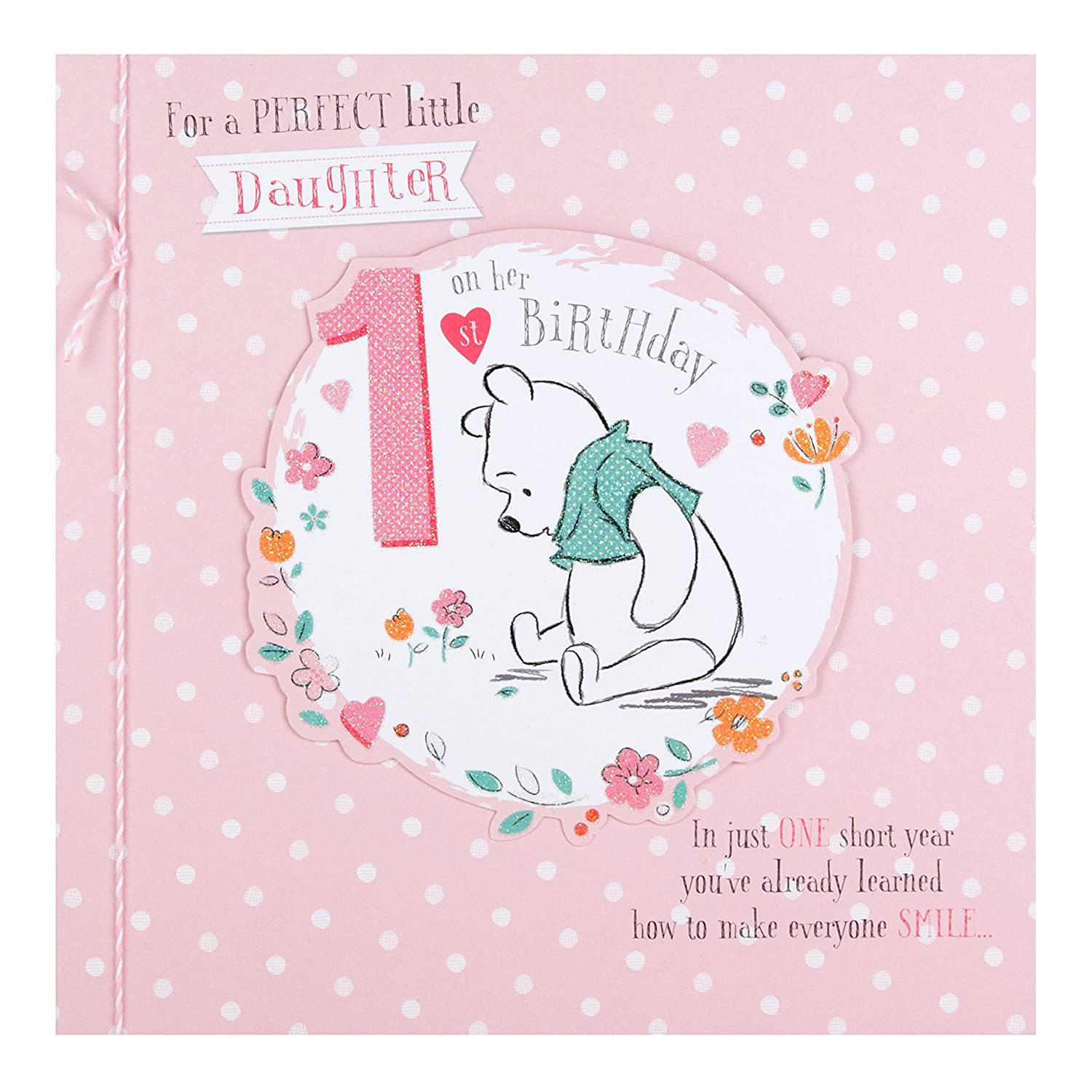 Daughter 1st Birthday Card To A Special Daughter Your 1st