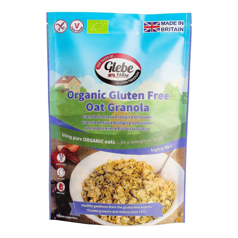 Glebe Farm Granola de avena ecológica sin gluten 325g ...