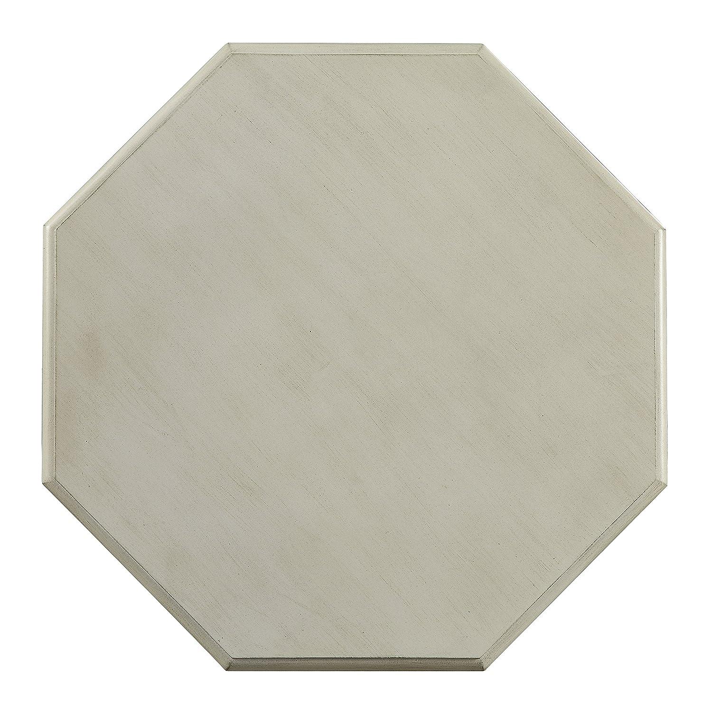 24 7 Shop at Home 247SHOPATHOME IDF-AC6442WH Brogan Side Table, White