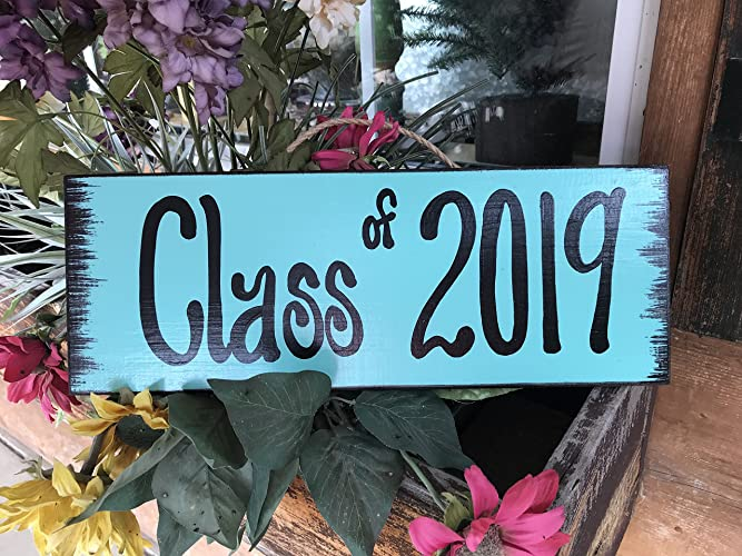 Amazoncom Class Of 2018 2019 Sign Reclaimed 15 Wall Sign Senior