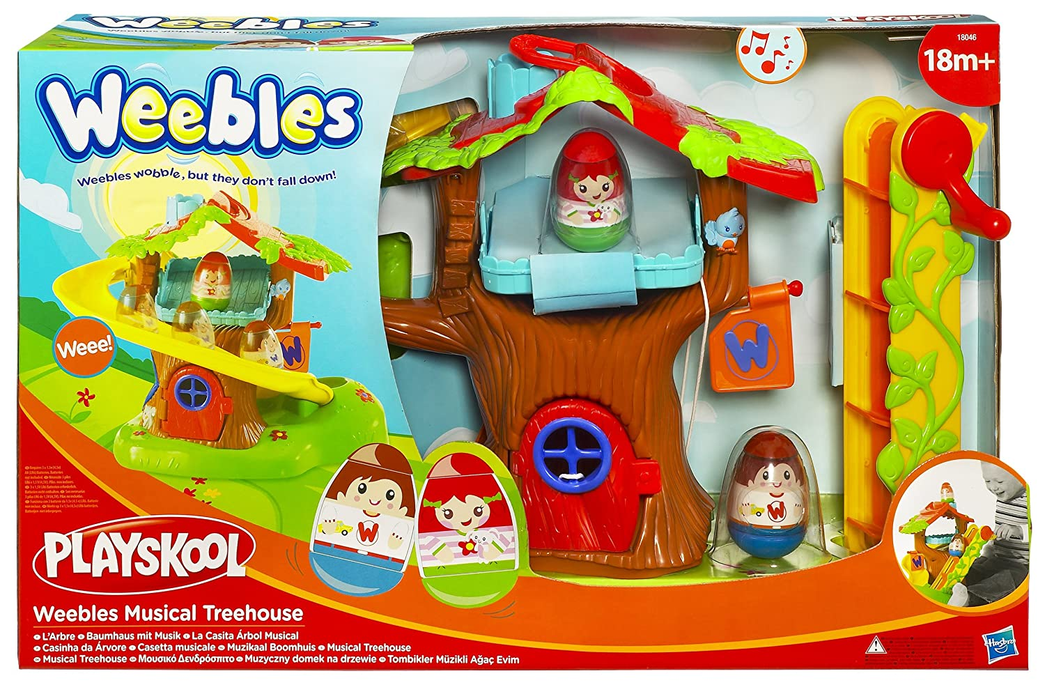 Playskool Weebles Musical Treehouse Part - 18: Amazon UK