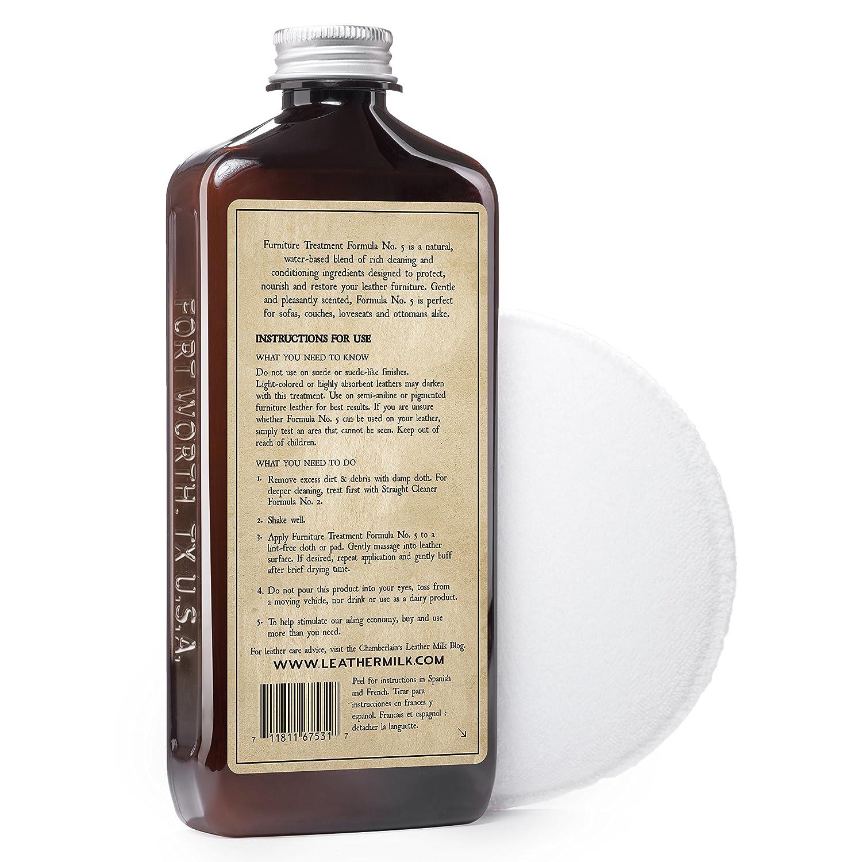 Amazon.com: Limpiador de muebles de cuero Leather Milk y kit ...