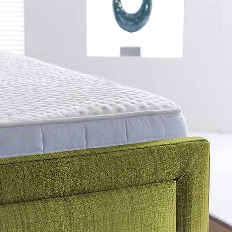 AVAX 1500 muelles ensacados colchón de Espuma de Memoria de Lujo con Alta Spec Natural de