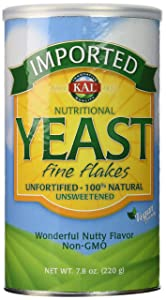 KAL Imported Yeast Flakes, 7.8 Ounce