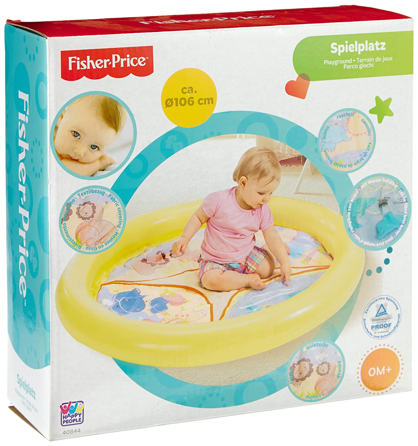 Happy People 40844 Fisher Price Waterplay Mat, Multi-Color Happy People_40844