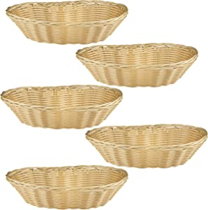 Baskets for Gifts Empty, 5 Pack Small Empty Gift Baskets to Fill