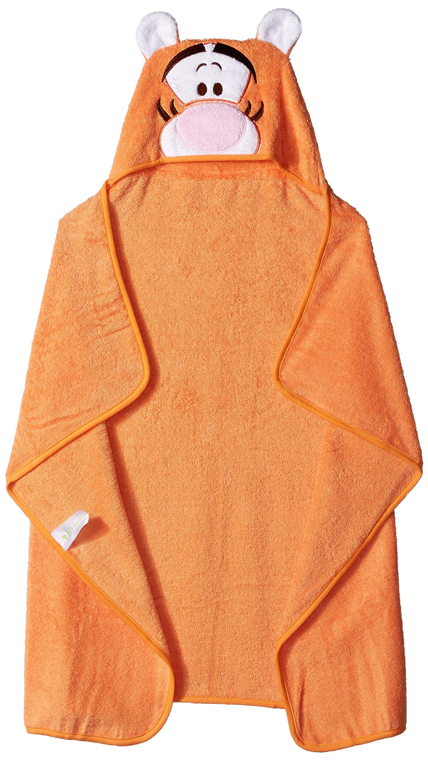 Disney Baby TIGGER Puppet Hooded Towel, Orange