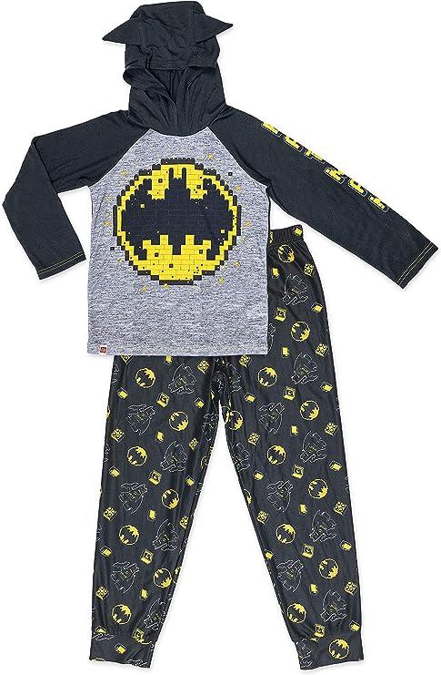 LEGO Batman Boys Pajama,2 Piece PJ Set