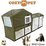 Cozy Pet Rabbit Hutch Cover Guinea Pig Ferret Hutch Covers for RH01 Hutches - RH01C. (We do not ship to the Channel Islands or The Isles of Scilly.)