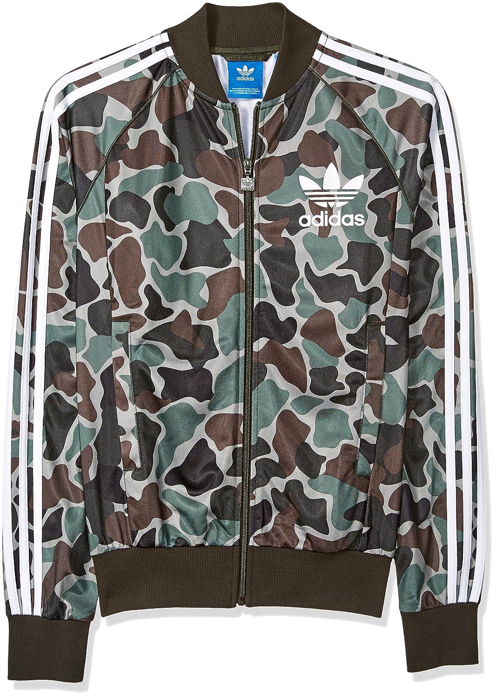adidas Originals Men's Superstar Track Jacket, BlackGrey