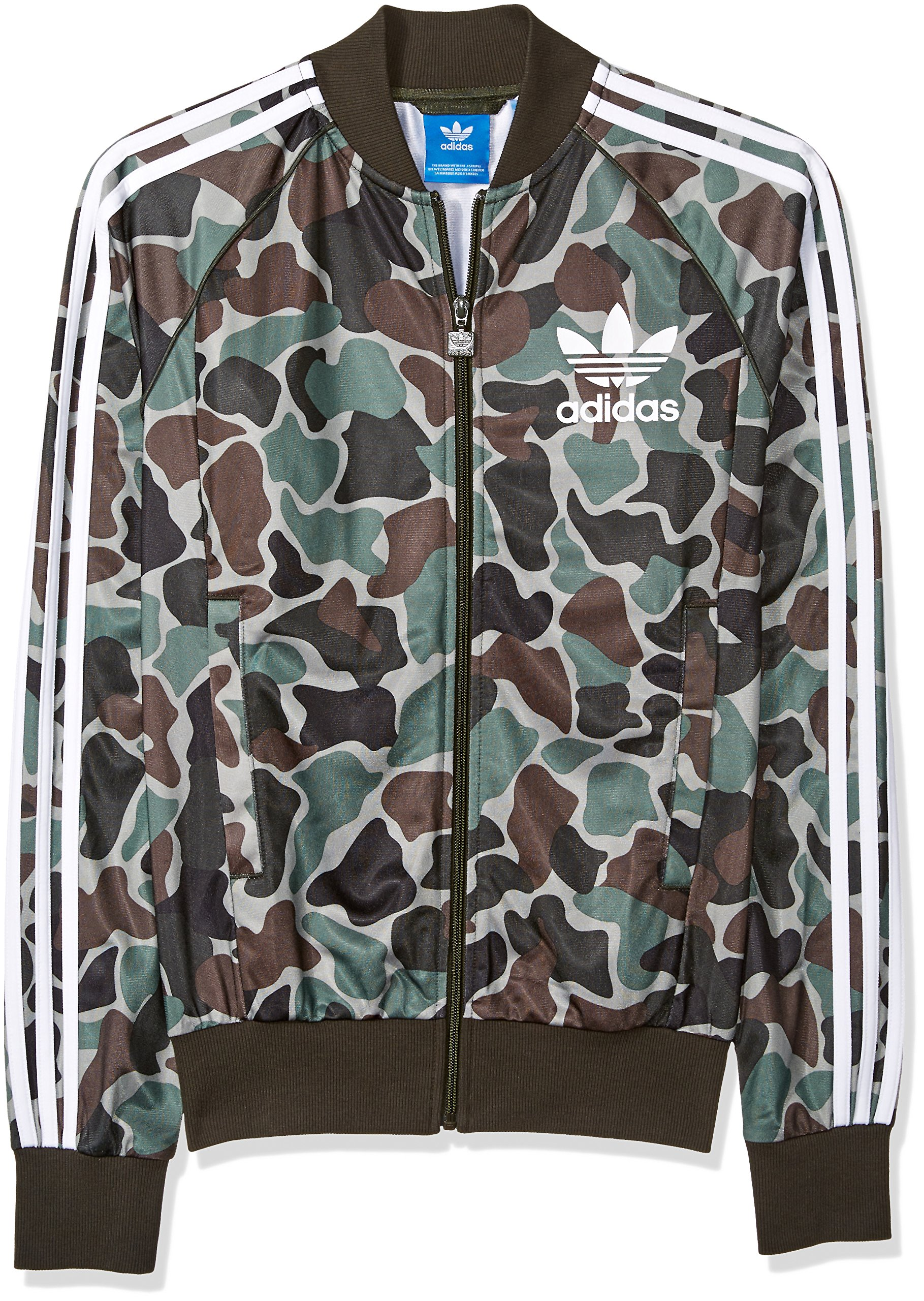 adidas Originals Men's Superstar Track Jacket,