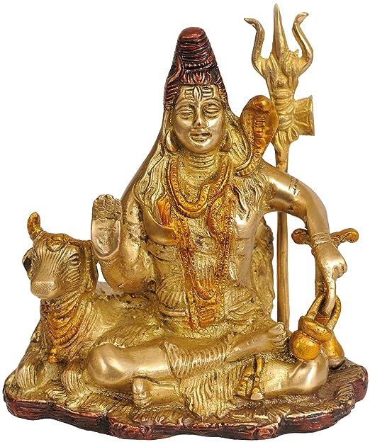 Exotic India zbv35 Lord Shiva con Yoga Danda: Amazon.es: Hogar