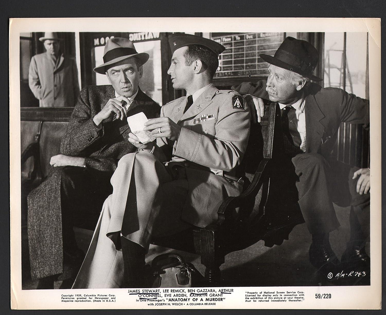 MOVIE PHOTO: Anatomy of a Murder-James Stewart, Lee Remick, and Ben ...