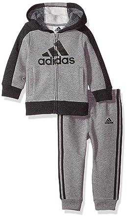 aa3779c79b99 Amazon.com  adidas Baby Boys Athletics Set