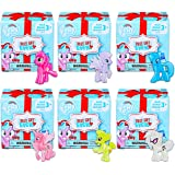 My Little Pony Mystery Pack Set Pony Figure Mystery Blind Box ~ 6 Pack Bundle (My Little Pony Party Favors)