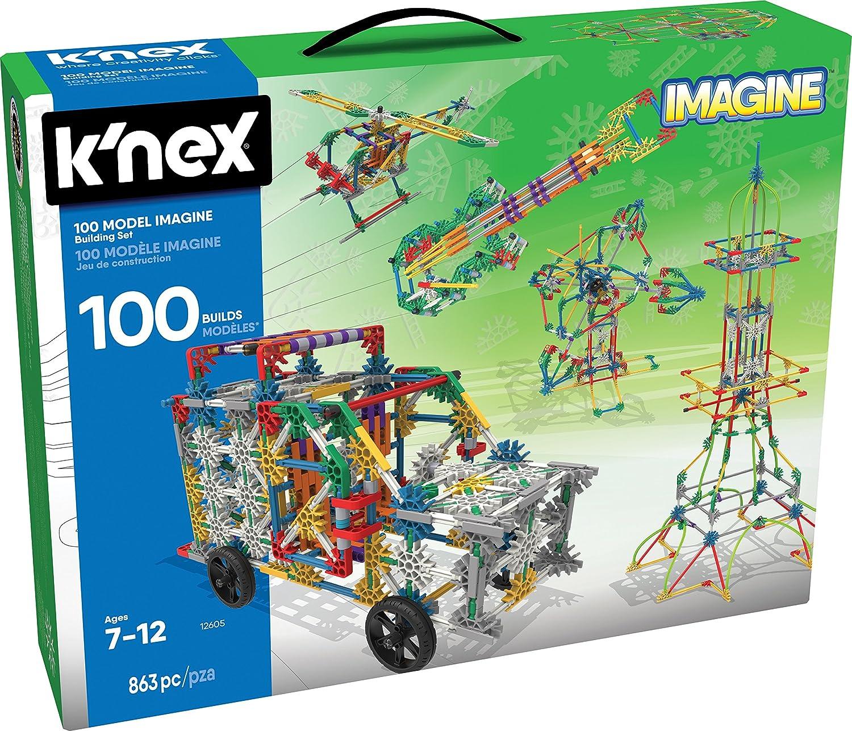 Amazon Knex 100 Model Building Set 863 Pieces Ages 7