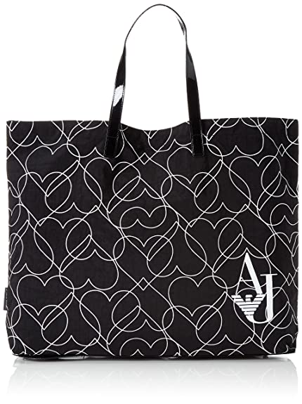 Shopper Talla Mujer Color 40x1x55 Negro Jeans922552cc860 Armani 5XB4qwxW1n