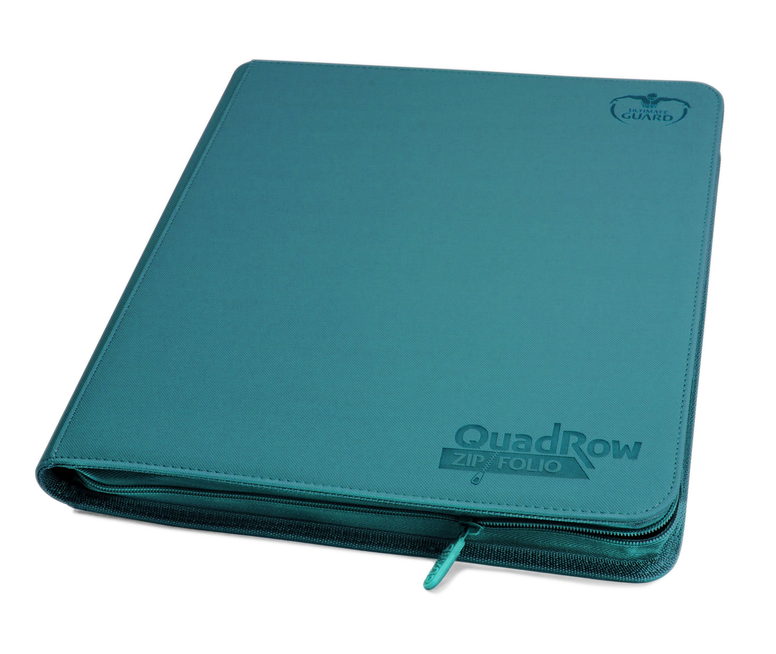Ultimate Guard Quad Row Zipfolio Xenoskin Card Sleeves, Petrol