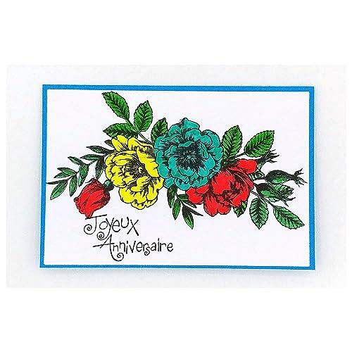 Carte De Voeux Joyeux Anniversaire Carte De Voeux Anniversaire Maman Carte Originale Carte Anniversaire Carte 16 5 X 11 Cm Plus Enveloppe Amazon Fr Handmade